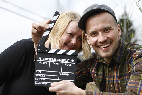 Vilma Talan ja Olli Horttanan visio tulevasta elokuvasta on ollut alusta lähtien hyvin samankaltainen.